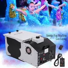 1500W Miroir à fumée basse Machine à effet de glace sèche Club DJ Stage Mariage