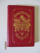 """La Comtesse de Ségur  """" Mémoires d'un âne """"   Bibliothèque Rose  1874"""