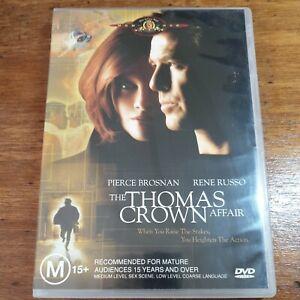 The Thomas Crown Affair DVD R4 LIKE NEW FREE POST
