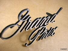 1971 1972 Pontiac Grand Prix Header Panel Script Emblem, C483931R