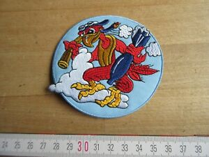 4th Tactical Recon Squadron Papagei Parrot Sqd Airforce USAAF Fliegerjacke Patch