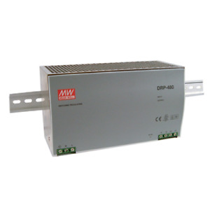 Meanwell DRP-480-24 Power Supply Ac-Dc din Uscita 24VDC 20A Case IN Metal