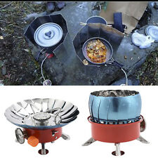 Mini Windproof Stove Cooker Cookware Gas Burner for BBQ Camping Picnic Cookout