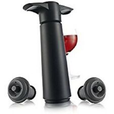Vacu Vin Vacuum Wine Saver with two stoppers.