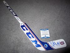 PATRICK ROY Montreal Canadiens SIGNED Autographed Mini Goalie Stick Beckett COA