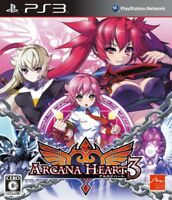 Used Game PS3 3 Heart Arcana