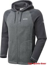 Craghoppers Union Fleece Hoodie / Jacket Black and Grey BNWT All Sizes S M L XL