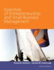 Essentials of Entrepreneurship and Small Business Management Scarborough 5th Ed
