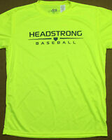 DRIFIT HEADSTRONG BASEBALL T ADULT SIZES *NEW* SAFETY YELLOW *UNDER ARMOUR STYLE