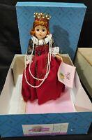 "Madame Alexander Doll 10"" Queen Elizabeth I My Doll House COA LE 1990 Cissette"