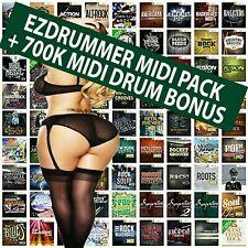 EZDrummer 2 Superior Drummer 3 Toontrack SUPER MIDI Pack 130+ BONUS 700K MIDI