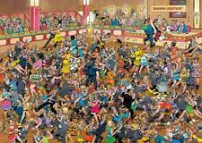 JUMBO JIGSAW PUZZLE BALLROOM DANCING JAN VAN HAASTEREN 1000 PCS #01617 CARTOON