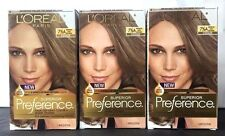 3 L'oreal Superior Preference 7 1/2 A Medium Ash Blonde-Cooler