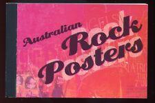 Australia - 2006 - $10.95 Prestige Booklet - Australian Rock Posters