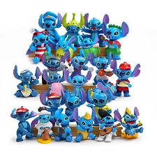 24pcs Disney Studio Lilo & Stitch Action Figure Collectible Toy Kids Cake Topper
