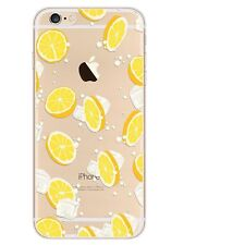 iPhone X 6 8 Plus 5 SE Ultra Thin Slim Rubber Pattern Soft Case Cover For Apple