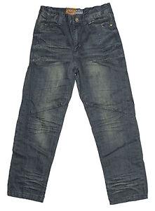 Mens Chisel Jeans Drak Blue Denim Straight Leg Kids Youth Jeans- CJ-2623 Sale