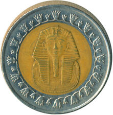 2008 / 1 POUND - EGYPT - COLLECTIBLE COIN - TUTANKAHMON    #WT4691