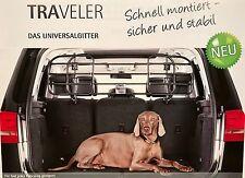 Kleinmetall TRAVELER Universal Trenngitter Hundegitter Gepäckgitter RENAULT