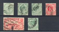 Gibraltar, QV, KEVII and KGV selection, good to fine used