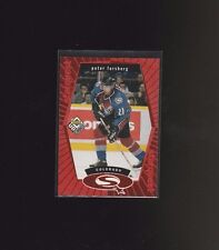 1998 Upper Deck UD Choice Starquest Red #SQ20 Peter Forsberg Colorado Avalanche