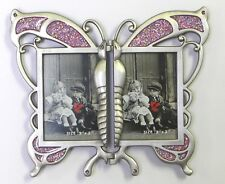 2 - 2 x 3 Hinged Butterfly - Purple Inset Item # 852. ROCKET FAST SHIPPING !!!!
