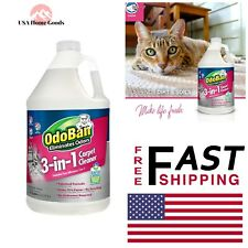 3-in-1 Carpet Cleaner 128 oz. Shampoo Solution Spot Remover Wool Quick Drying
