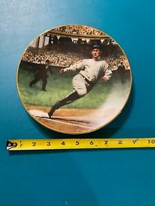vintage Ty Cobb THE GEORGIA PEACH The Legends of Baseball Collectors Plate 1993
