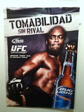 """Anderson """"SPIDER"""" Silva UFC Promo Poster From Bud Light"""