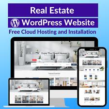 Real Estate Business Affiliate Store Website Free Installation Hosting