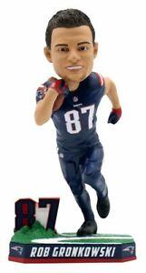 Rob Gronkowski New England Patriots NFL Color Rush Bobblehead by FOCO NIB Gronk