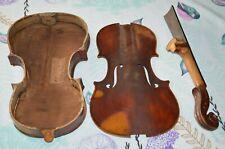 Old Violin, Italian label L.Galimberti Anno 1933, as-found restorable condition