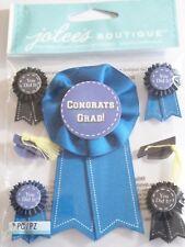 JOLEE'S BOUTIQUE GRADUATION CAPS AND RIBBONS Scrapbook Craft Sticker Embellish