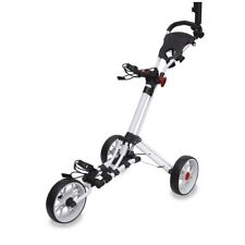 Longridge EZE-GLIDE 3G Smart Fold Folding Golf Trolley Premium 3 Wheel Push Cart