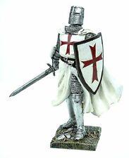 mit Schwert /& Streitaxt /& Schild black cross Dekofigur Kreuzritter #KN134d