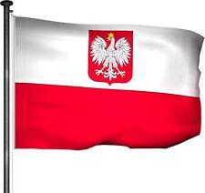 Fahne Polen - Hissfahne 100x150cm Premium Qualität