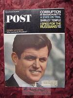 Saturday Evening POST June 5 1965 SHIRLEY TEMPLE P G WODEHOUSE