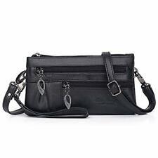 Small Crossbody Bags Purse Leather Wristlet Wallet Women Clutch Handbag Multi 5s