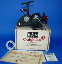 Vintage DAM Quick 331 Spinning Reel MINT in BOX Germany