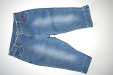 Jako-o Caprijeans Jeans Hose Capri kurze Hose Größe 128 134 weit - TOP!