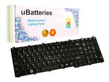 Laptop Replacement Keyboard Toshiba Satellite NSK-TN0SV (Black, Big Enter Key)