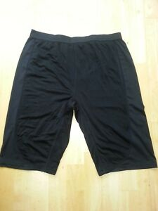 Pelvic Protection Anti Microbial Black Under Wear / Boxer Shorts, for cycling