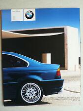 Prospekt BMW 3er E46 Coupe (318Ci,320Ci,325Ci,330Ci), 2.2000, 20 Seiten