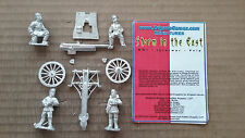 """25mm Brigade Games """" Storm in the East """"  75mm Russian Artillery & Crew"""