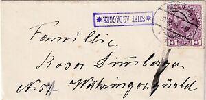 Austria 1912. Little letter sent as printed matter from postablage