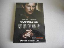 enANALYSE SAISON 1:SEMAINES 1 a 5 DVD NEW GABRIEL BYRNE DIANNE WIEST FRENCH