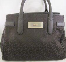 NWOT DKNY Signature Logo Satchel/Crossbody Bag Black-$129