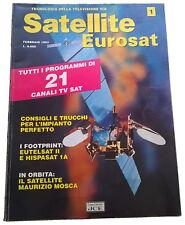 Satellite Eurosat, febbraio '93, n°1
