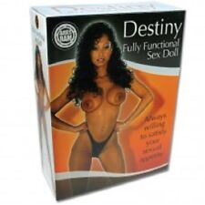 Black Sex Doll Destiny Life Sized Vaginal, Anal Mouth Openings Female Love Doll