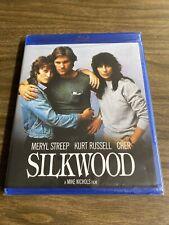 SILKWOOD New Sealed Blu-ray Meryl Streep Cher Kurt Russell